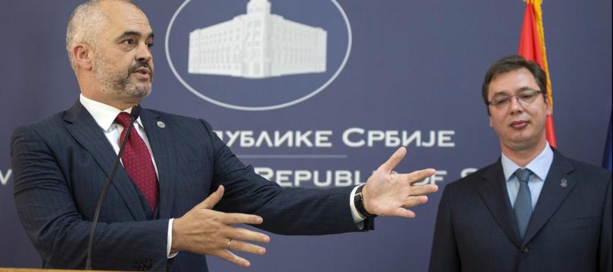 Սերբիայի և Ալբանիայի ղեկավարները պատմական հանդիպման ժամանակ տապալել են լարվածության թուլացման գործընթացը
