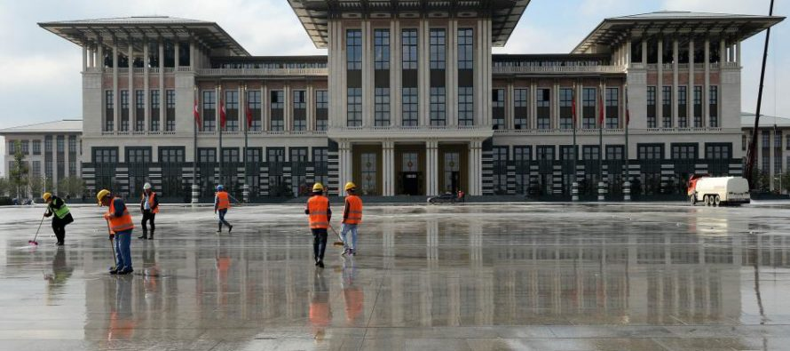 615 միլիոն գնապիտակը բացահայտեց Թուրքիայի նախագահական նստավայրի հակասականությունը