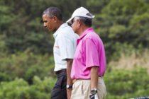 Համաշխարհային առաջնորդները քննադատվում են Հավայան կղզիներում գոլֆ խաղալու համար (սակայն այս անգամ Օբաման չէ)