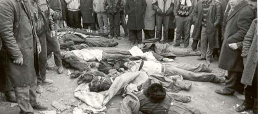 25 տարի առաջ. Ազգայնականների հակահայկական զանգվածային անկարգություններն