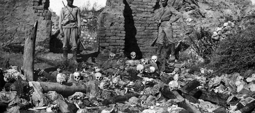 Գալիպոլիի հարյուրամյակը հայկական հոլոքոստը թաքցնելու ամոթալի փորձ է