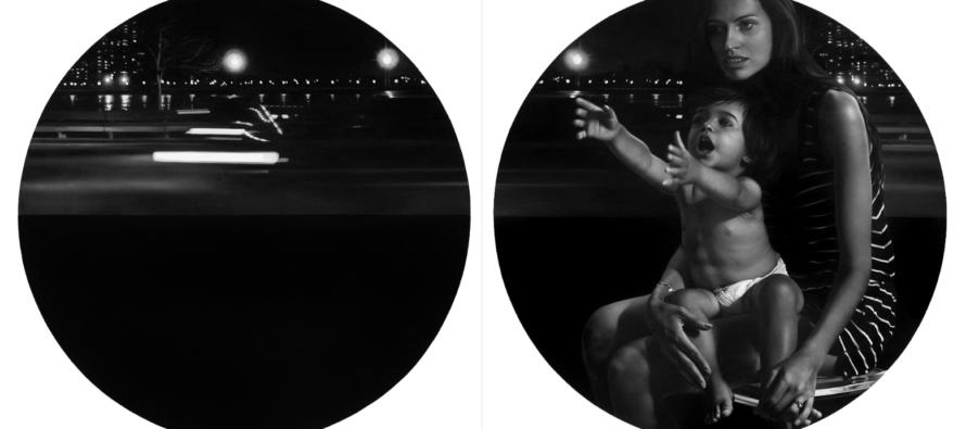 Կրկնակի էքսպոզիցիոն հսկայական գերիրական գեղանկարներ