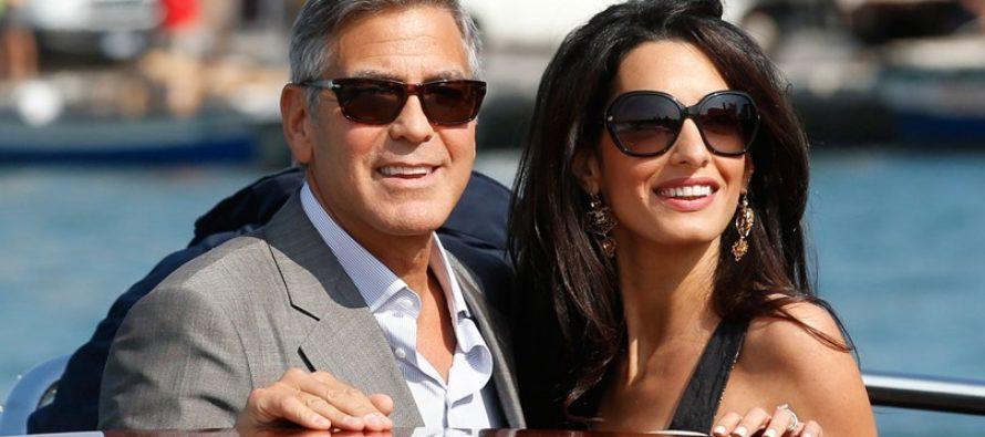 Ինչպես է Ջորջ Քլունին նշել իր կնոջ Ամալի ծննդյան օրը