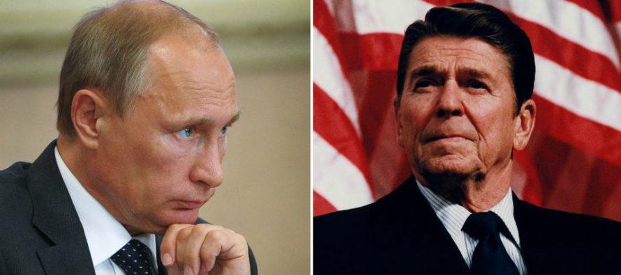 Ռեյգանը և Միացյալ Նահանգները սխալ են գործել այն ժամանակ, Պուտինն ու Ռուսաստանը սխալ են գործում այսօր