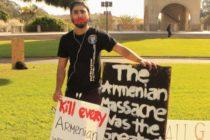 UCSB հայ ուսանողների ասոցիացիան բողոքում է Հայոց Ցեղասպանության ժխտման դեմ