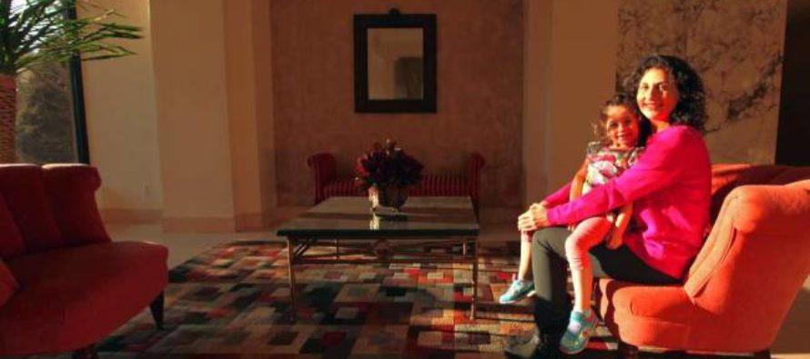 Թենիսի նկատմամբ ունեցած սերը ոգեշնչել էր կնոջը անշարժ գույքի ձեռքբերման համար