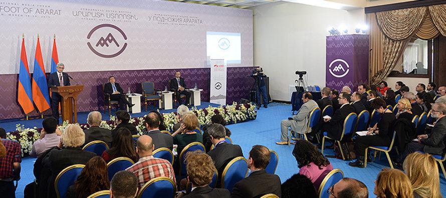 Հայաստանը Ցեղասպանության հարյուրամյա տարելիցը նշելու համար միջազգային ԶԼՄ-ների  ֆորում է անցկացնում