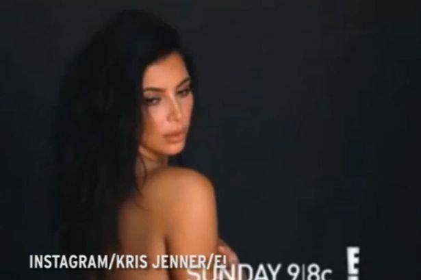 Kim-Kardashian-poses-NAKED-as-she-teases-Keeping-Up-With-The-Kardashians