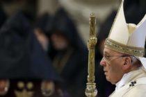 Ֆրանցիսկոս Պապը օգտագործում է «G-բառը» և բորբոքում Ցեղասպանության վերաբերյալ մեկդարյա բանավեճը