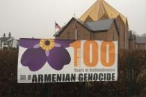 Տեղացի հայերը նշում են Հայոց Ցեղասպանության 100-րդ տարելիցը