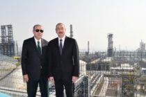 Թուրքիան և Ադրբեջանն ամրապնդում են հարաբերությունները նավթամշակման նոր գործարանով