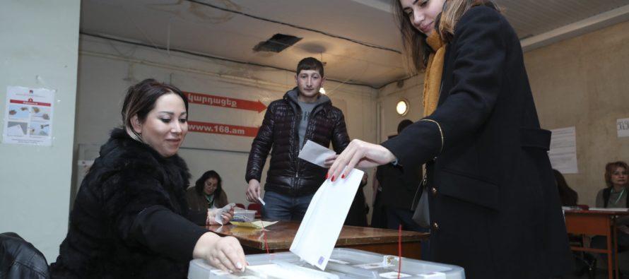 Հայաստանը քվեարկեց ռեֆորմիստ վարչապետի հրավիրած արտահերթ ընտրություններում