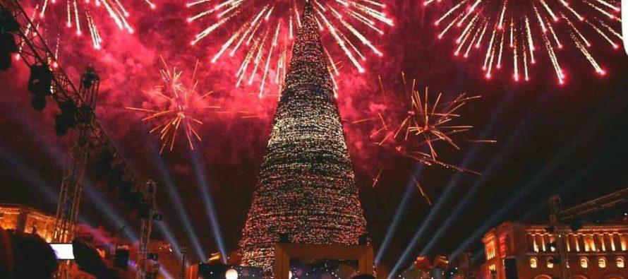 Սուրբ Ծնունդը Երևանում. Ձմեռային հրաշքում