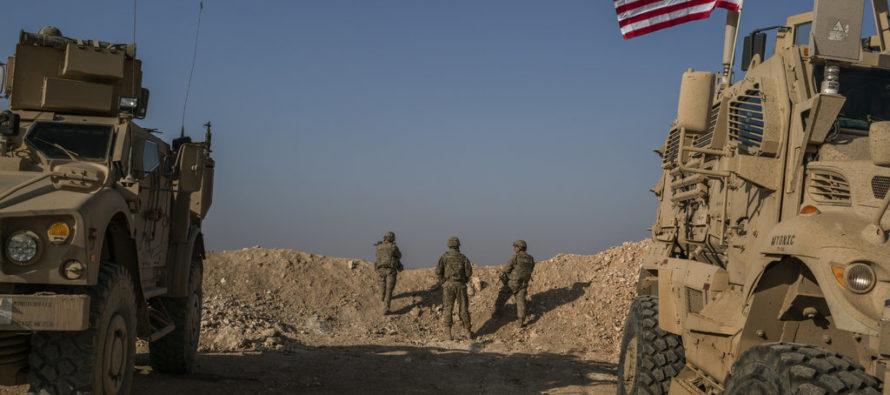 Թրամփը դուրս է բերում ամերիկյան զորքը Սիրիայից