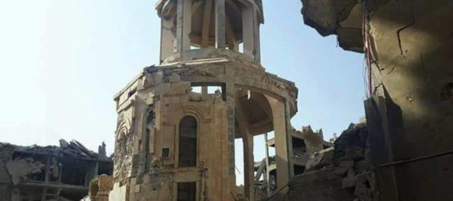 Ասադը կվերակառուցի Դեյր էզ Զորում հայոց ցեղասպանության զոհերի հիշատակին կառուցված հայկական եկեղեցին