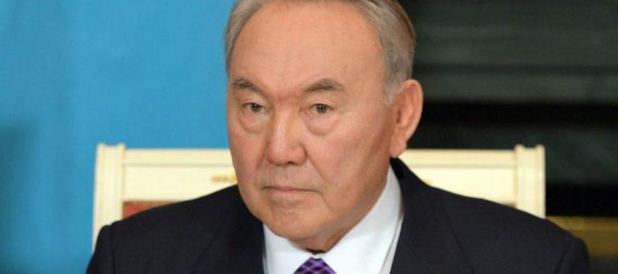 Ղազախստանի նախագահ Նուրսուլթան Նազարբաևը արձակել է կառավարությունը