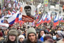Բորիս Նեմցով. Հազարավոր մարդիկ դուրս էին եկել երթի ընդդեմ Վլադիմիր Պուտինին և ի հիշատակ ռուսական ընդդիմության առաջնորդի