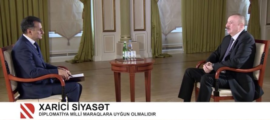 Ադրբեջանի նախագահը պաշտոնավարման 15 տարում առաջին հեռուստահարցազրույցն է տվել