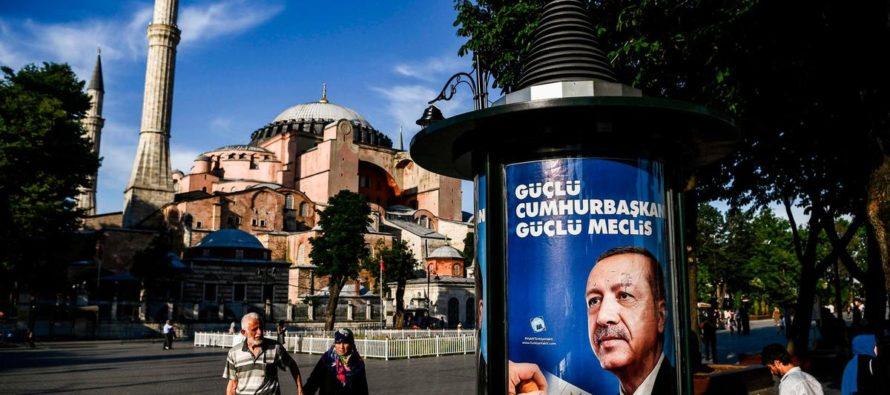 Էրդողանը մտածում է Ստամբուլի Այա Սոֆիան վերանվանել մզկիթ