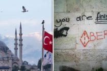 Թուրքիայում սպառնալիքներով և գրաֆիտիով պղծել են հայկական եկեղեցու պատերը