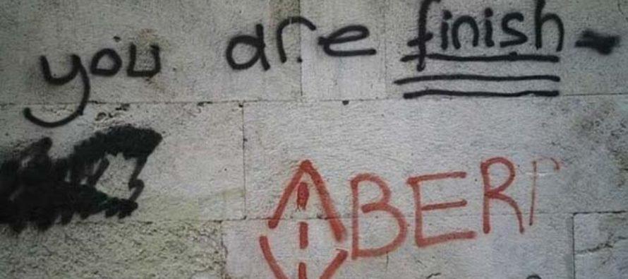 Թուրքիայում հայ քրիստոնյաների մահվան սպառնալիքով գրաֆիտի է հայտնվել