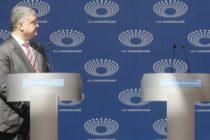 Ընտրություններ Ուկրաինայում. Պորոշենկոն բանավիճել է դատարկ ամբիոնի հետ