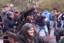 Վրաստանի Պանկիսի կիրճում բողոքի ցույցերից հետո անկարգություններ են սկսվել