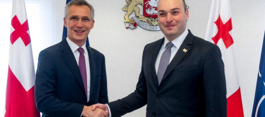 ՆԱՏՕ-ն նորից իր ուժեղ աջակցությունն է ցույց տալիս Վրաստանին