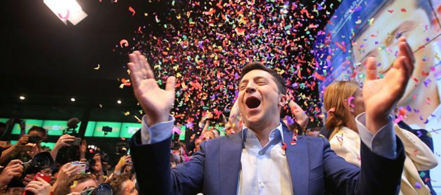 Ուկրաինական ընտրություն. հումորիստը հաղթում է նախագահի պաշտոնի համար պայքարում