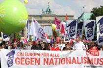 Ընտրություններից առաջ հազարավոր մարդիկ մասնակցում են Եվրոպամետ ցույցերին