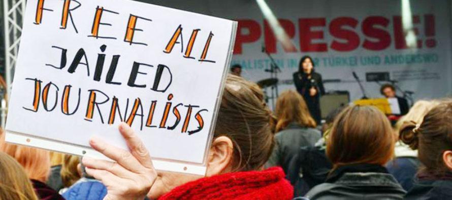 Թուրքիանլրագրողների ամենամեծ բանտն էաշխարհում