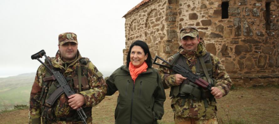 Վրաց-ադրբեջանական սահմանագծի խնդիրներն ու հնագույն քրիստոնեական համալիրը
