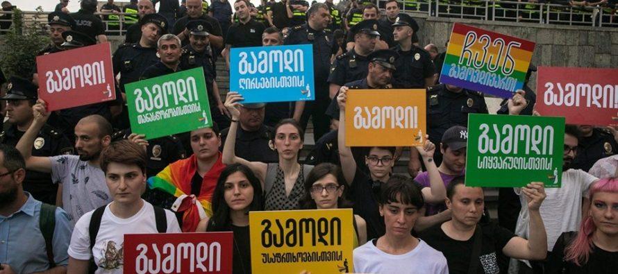 Թբիլիսիի Պատիվ շարժումը սպառնում է ԼԳԲՏ երթի անվտանգությանը