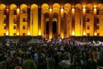 Վրաստանի նախագահը մեղադրում է Ռուսաստանին ցույցեր հրահրելու մեջ