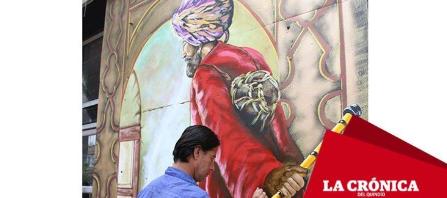 Կոլումբիայի Արմենիա քաղաքի շենքերից մեկի պատին հայտնված որմնանկարը զայրացրել է տեղացիներին