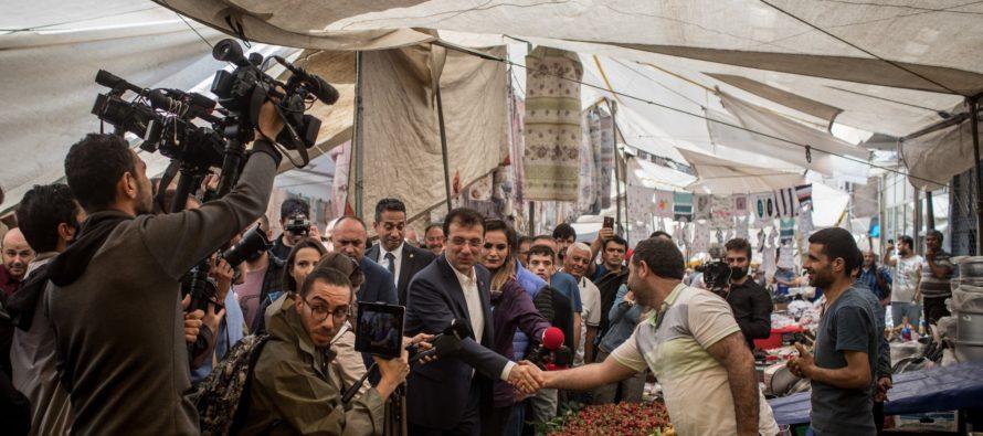Ստամբուլի նոր քաղաքապետը արագորեն դառնում է Էրդողանի մրցակիցը