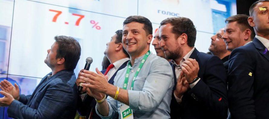 Ուկրաինայում Զելենսկիի կուսակցությունը ստացել է մեծամասնություն. Հարցումներ