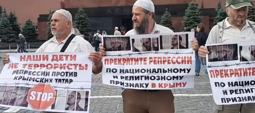 Մոսկվայում ոստիկանությունը ձերբակալել է Ղրիմի ավելի քան 40 թաթարների