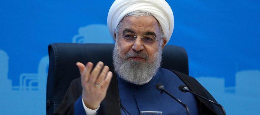 Իրանի նախագահ Ռոհանին պատրաստ է բանակցել, եթե պատժամիջոցները վերացվեն