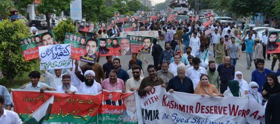 Պակիստանն արտաքսում է Հնդկաստանի դեսպանին Քաշմիրի շուրջ վեճի պատճառով