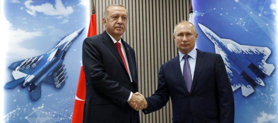 Էրդողանը հայտարարել է, որ Թուրքիան ցանկանում է շարունակել Ռուսաստանի հետ ռազմատեխնիկական գործակցությունը