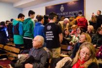 Ուսանողների բողոքը ընդդեմ Հայոց Ցեղասպանությունը ժխտողների