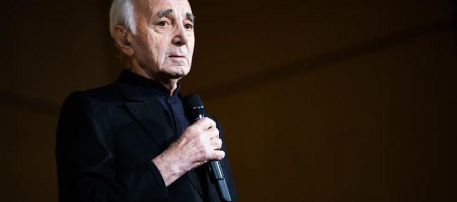Ֆրանսիացի լեգենդար երգիչ Շառլ Ազնավուրը մահացավ 94 տարեկանում