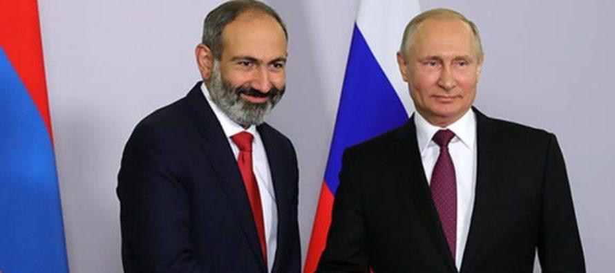 Մոսկվան ավելի մեծ ճնշում է գործադրում հայկական նոր իշխանության վրա