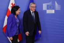 Վրաստանի նախագահի այցը Բրյուսել անարդյունք է անցել
