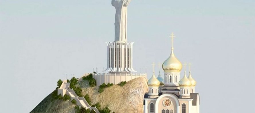 Ռուսաստանում Հիսուսի հսկայական արձանը կկանգնենցնեն Լենինի համար նախատեսված պատվանդանի վրա
