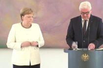 Բեռլինում Գերմանիայի կանցլեր Մերկելը կրկին «ցնցվել» է