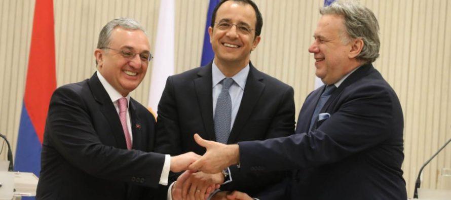 Կիպրոսը, Հունաստանը և Հայաստանը զարգացնում են եռակողմ գործակցությունը