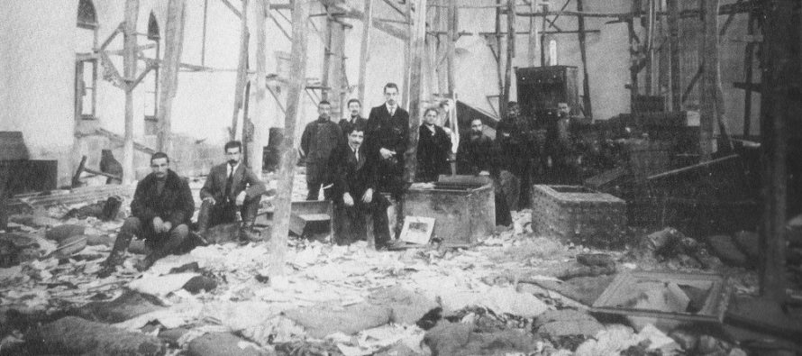 Նամակները բացահայտում են Օսմանյան կայսրության իրականացված ցեղասպանությունը