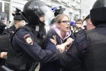 Ոստիկանությունը հարյուրավոր մարդկանց է ձերբակալել Մոսկվայում